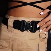 戰術腰帶1.4米合金腰帶搭配酷黑戰術尼龍休閑工裝褲快速出貨