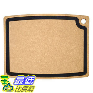 [美國直購] Epicurean 003-20150102 砧板 美國製 Gourmet Series Cutting Board, 19.5吋 x 15吋 Natural/Slate