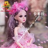 60厘米眨眼 音樂版芭比洋娃娃 女孩公主單個大禮盒玩具布套裝【樂淘淘】
