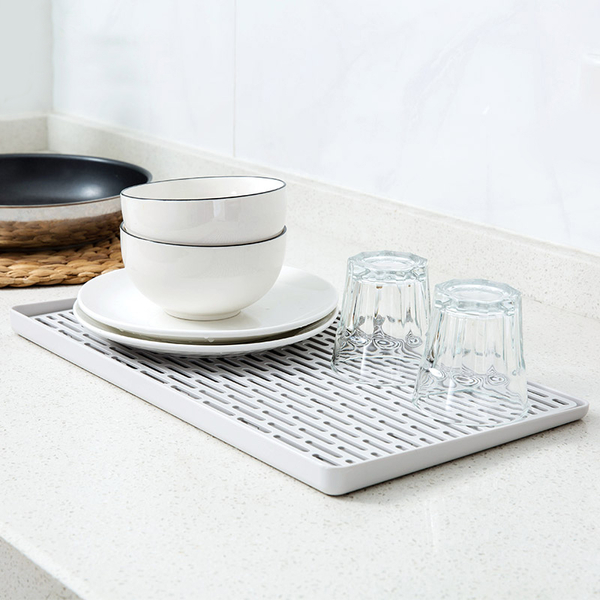 北歐極簡雙層瀝水盤【MBL1104】托盤 餐具碗盤水杯瀝水架 水果瀝水盤