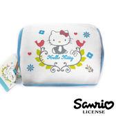 【三麗鷗正版】Hello Kitty 凱蒂貓 北歐風 化妝包 收納包 三麗鷗 Sanrio - 005152
