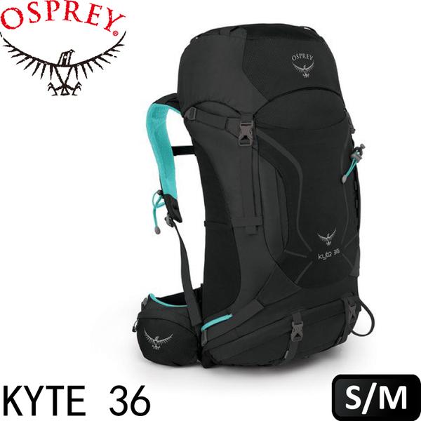 【OSPREY 美國 Kyte 36《暗蘭灰 S/M》】Kyte 36/登山包/登山/健行/自助旅行/雙肩背包★滿額送