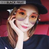 太陽鏡圓臉彩色透明眼鏡 ☸mousika