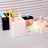 得力多功能筆筒創意時尚韓國小清新學生桌面文具收納盒辦公用品·ifashion