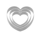 【SN3763】台灣製 三能 愛心型鳳梨酥模 心型圈(陽極) 鳳梨酥模具 壓模 切模 原SN3351