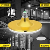 LED燈 美凌led燈泡大功率超亮飛碟燈家用E27螺口節能燈廠房車間照明光源 風馳