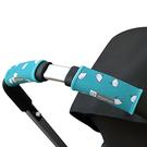 美國 Choopie City Grips 推車手把保護套-單把手款 (水藍鯨魚)0001-0070[衛立兒生活館]