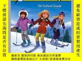 二手書博民逛書店Ski罕見School SneakY362136 Carolyn Keene Car... Aladdin (