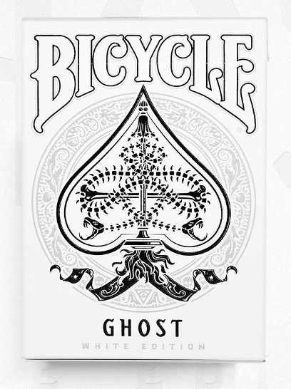 【USPCC 撲克】Bicycle GHOST LEGACY Edition 白