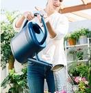 澆花水壺家用淋花澆水壺長嘴澆花壺大容量養花種菜塑料灑水壺蓬壺 3C優購