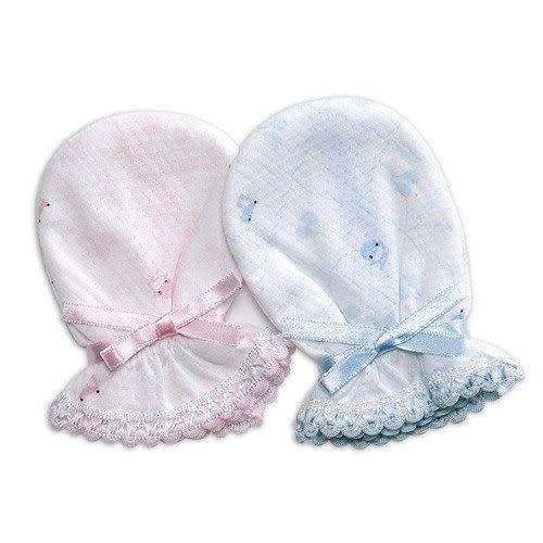 【奇買親子購物網】酷咕鴨KU.KU. 繫帶護手套/2入(藍色/粉色)
