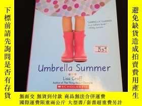 二手書博民逛書店Umbrella罕見summerY302880 Lisa graff Scholastic ISBN:9780