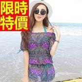 泳衣(三件式)-比基尼-音樂祭衝浪溫泉必備簡約亮麗女神2色56j52[時尚巴黎]