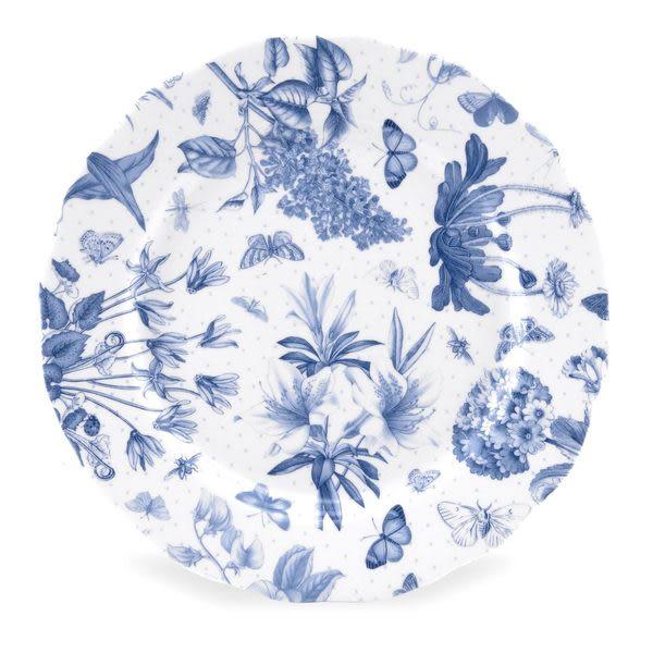 Portmeirion 植物藍8.5吋餐盤