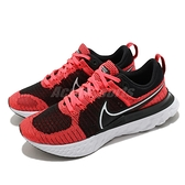 Nike 慢跑鞋 React Infinity Run FK 2 黑 紅 男鞋 運動鞋 【ACS】 CT2357-600