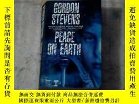 二手書博民逛書店gordon罕見stevens peace on earth(英