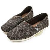 【TOMS】深咖啡毛呢編織懶人鞋【現貨】