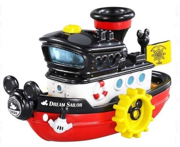 TOMICA 蒸汽船造型小汽車_DS61363 DREAM 迪士尼小汽車