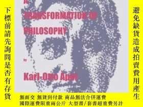 二手書博民逛書店Towards罕見A Transformation Of Philosophy-走向哲學的轉型Y436638