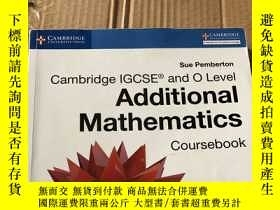 二手書博民逛書店Additional罕見MathematiceY246305 S