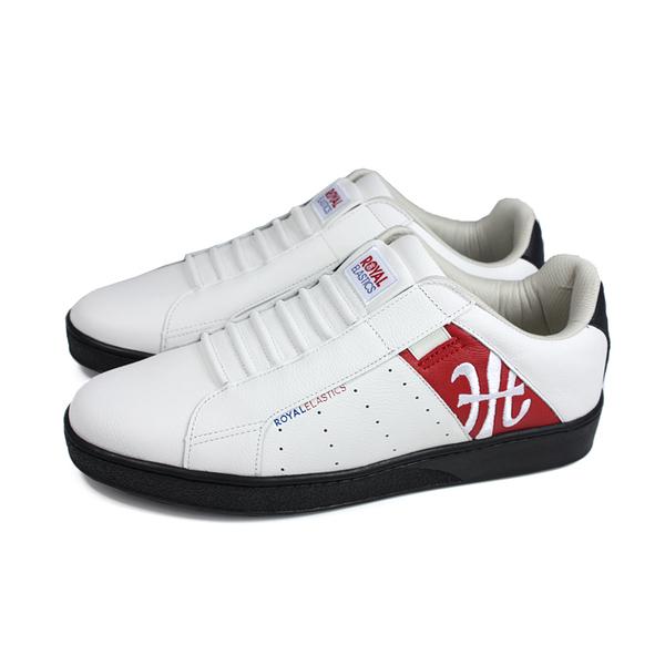 ROYAL ELASTICS 懶人鞋 休閒鞋 白/紅 男鞋 01902-019 no589
