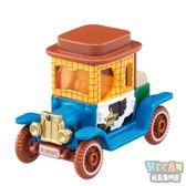 TOMICA多美迪士尼小汽車 DM-18 胡迪警長高帽子造型小車 Disney motors 79992