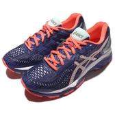 【六折特賣】Asics 慢跑鞋 Gel-Kayano 23 Lite-Show 反光 藍 銀 橘紅 女鞋【ACS】 T6A6N4593