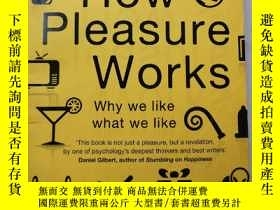 二手書博民逛書店How罕見Pleasure WorksY385290 Paul Bloom Vintage ISBN:9780