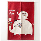 大小象 門簾 窗簾 風水簾 玄關GBC-3234