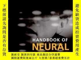 二手書博民逛書店Handbook罕見Of Neural Networks For Speech Processing (artec