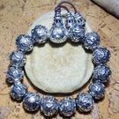 10mm硫化做舊款葫蘆觀音心咒六字大明咒手環念珠手鍊