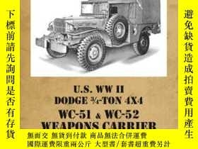 二手書博民逛書店Tanko罕見6031 U.S. WW II Dodge WC51-WC52 Weapons Carrier-Ta