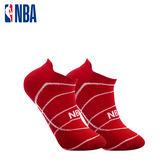NBA 船襪 MIT 運動配件 籃球緹花船襪 (紅/白)