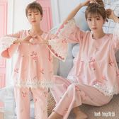 居家孕婦月子服 新款純棉產后孕婦睡衣家居服薄款哺乳衣 QQ8306『bad boy時尚』