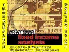 二手書博民逛書店Advanced罕見Fixed Income Analysis-高級固定收益分析Y436638 Moorad