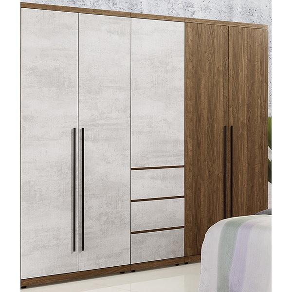 衣櫃 衣櫥 QW-101-456 緹諾6.8尺衣櫃【大眾家居舘】