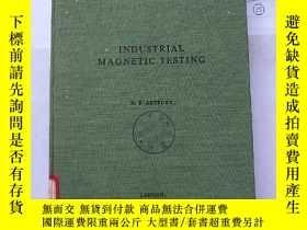 二手書博民逛書店industrial罕見magnetic testing (H1