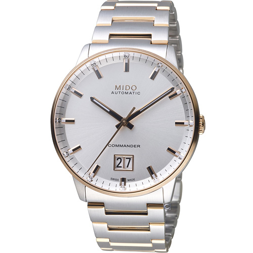 MIDO美度 Commander 指揮官系列 Big Date紀念日腕錶 M0216262203100