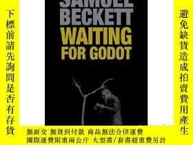 二手書博民逛書店等待戈多英文原版小說英文版罕見Waiting for Godot Samuel 貝克特Beckett 世界經典名著