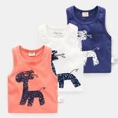 男童小背心無袖棉質2019夏裝夏季新款童裝兒童寶寶女小童1歲3薄款【快速出貨】