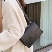 法國小眾包包女2021新款潮百搭時尚2021網紅高級感鏈條斜背單肩包 夏季新品