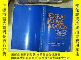 二手書博民逛書店federal罕見income taxation a law students guide to the lead