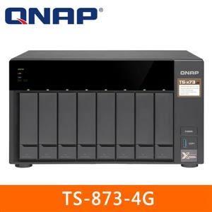 【綠蔭-免運】QNAP TS-873-4G 網路儲存伺服器