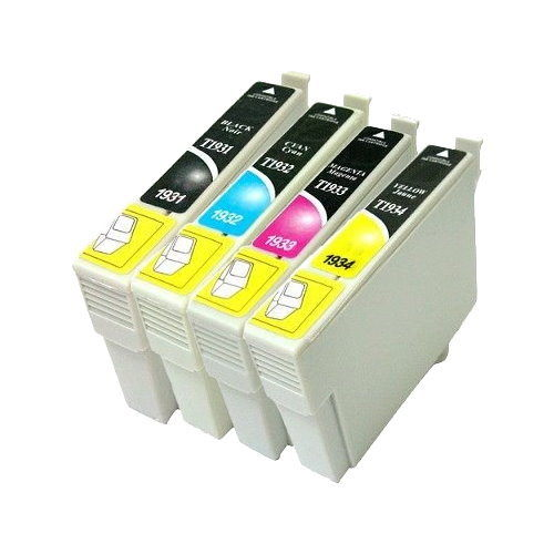 EPSON相容墨水匣NO.193 標準容量T1931黑色T1932藍色T1933紅色T1934黃色 單顆任選適用WF-2521/WF-2531/WF-2541