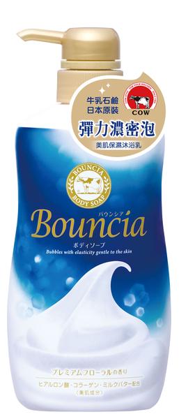 日本原裝進口 牛乳石鹼 美肌保濕沐浴乳 (優雅花香型) 500ml