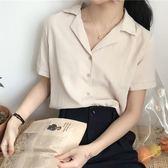 韓版氣質百搭西裝領雪紡衫 艾尚精品