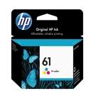HP NO.61 61 彩色 原廠墨水匣 適用000/1050/2000/2050/3000/3050/J410a/J610a/3050