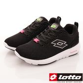 【LOTTO】記憶泡綿跑鞋款-LT7AWR5070-黑-女段-0