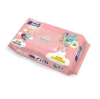 Unidry 優力巾-嬰兒潔膚柔濕巾80抽