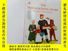 二手書博民逛書店The罕見Thanksgiving Story  .Y12498